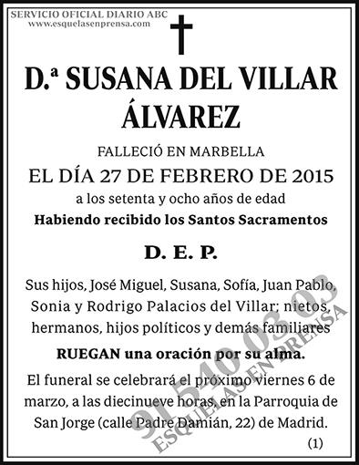 Susana del Villar Álvarez